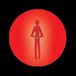 Evenwichtig Mens icoon zonder rand (2016), een van de deugdenrollen van Mijndeugden.nl © Future Life Research BV, gelicenseerd onder CC-BY-NC-ND 4.0 (zie: http://creativecommons.org/licenses/by-nc-nd/4.0/).