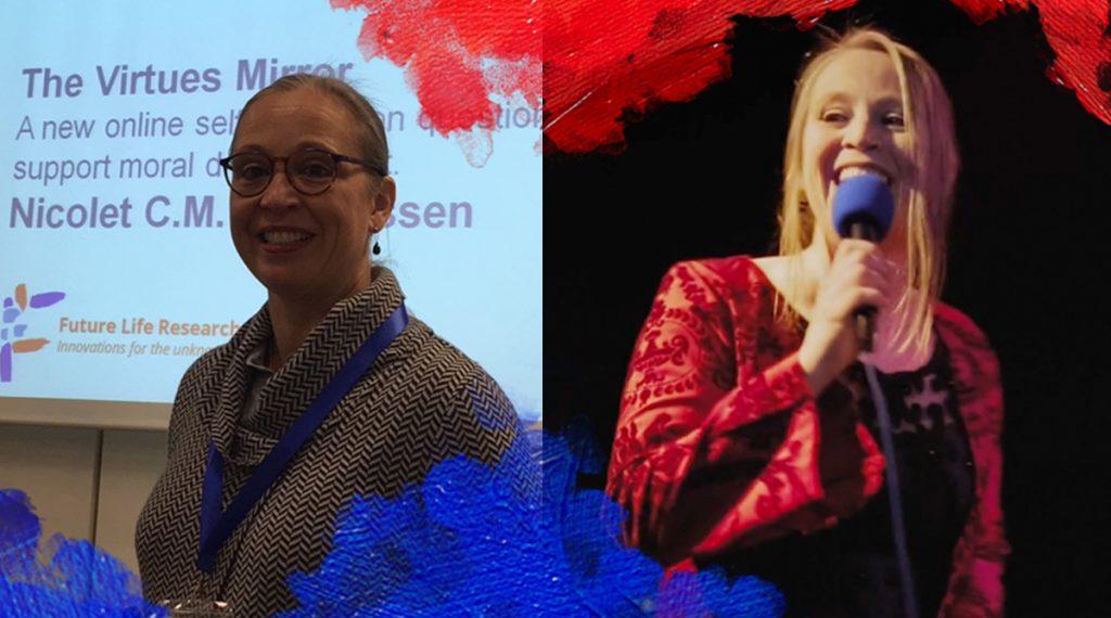 Foto's: compiliatie (2018) Dr. Nicolet, wetenschapper en zangeres.