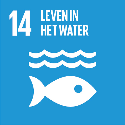SDG 14 Leven in het water. Bewerkt door MooierMens.app, 09-08-2021. https://www.sdgnederland.nl
