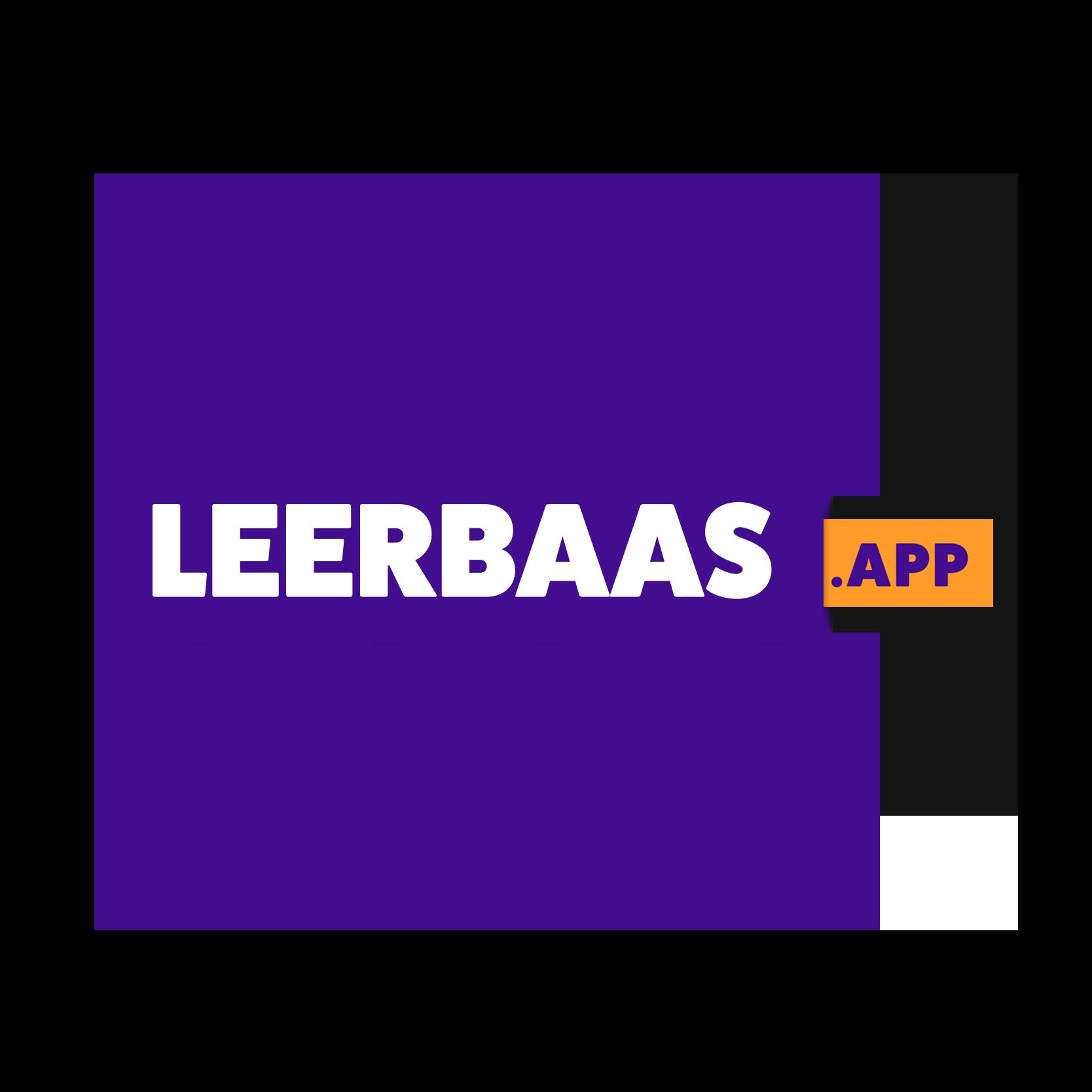 Logo Leerbaas.app, (c) Future Life Research 2021