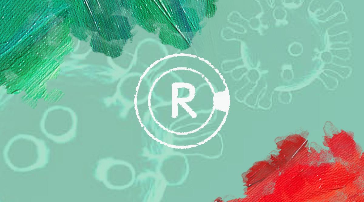 Foto: Logo van Radar met corona achtergrondje en vlekken van MooierMens.app, 20–03-2020. https://radar.avrotros.nl/