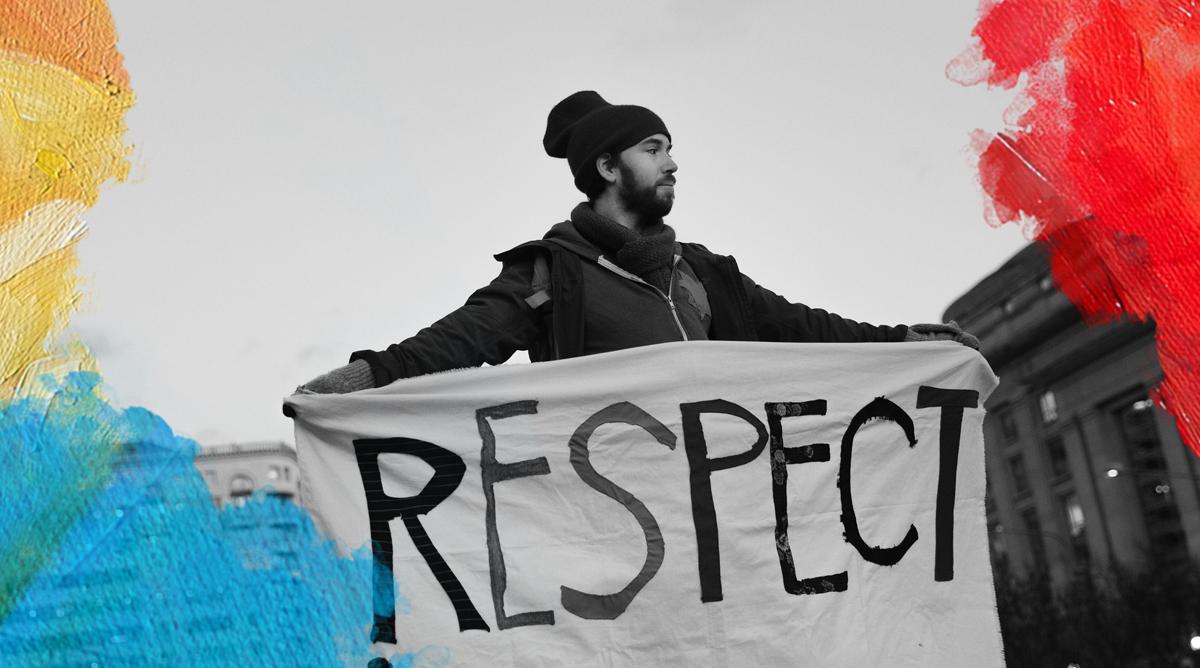 Lorie Shaull (2017) Respect. Bewerkt door Mooiermens.app, 04-11-2019, https://www.flickr.com/photos/number7cloud/32512423746